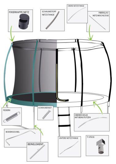 Advanced Trampolin 305cm